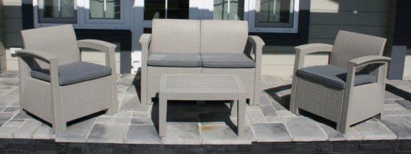 Комплект садовой мебели под ротанг IDEA SOFT 4